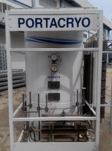 Liquid Argon Cryogenic Tank at Batam