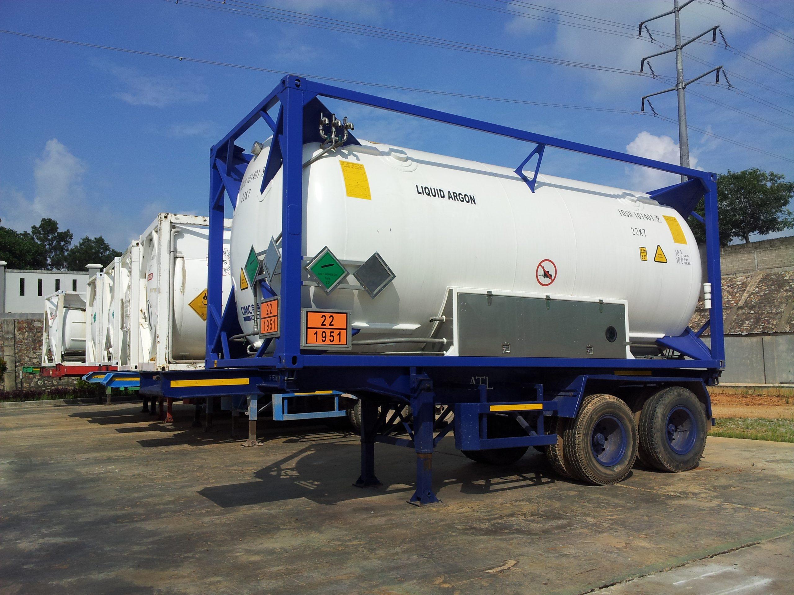 Liquid Argon Storage Tank at Batam