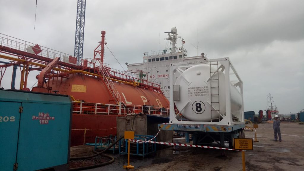 Ship Plant and Purging at Marcopolo AG II Batam
