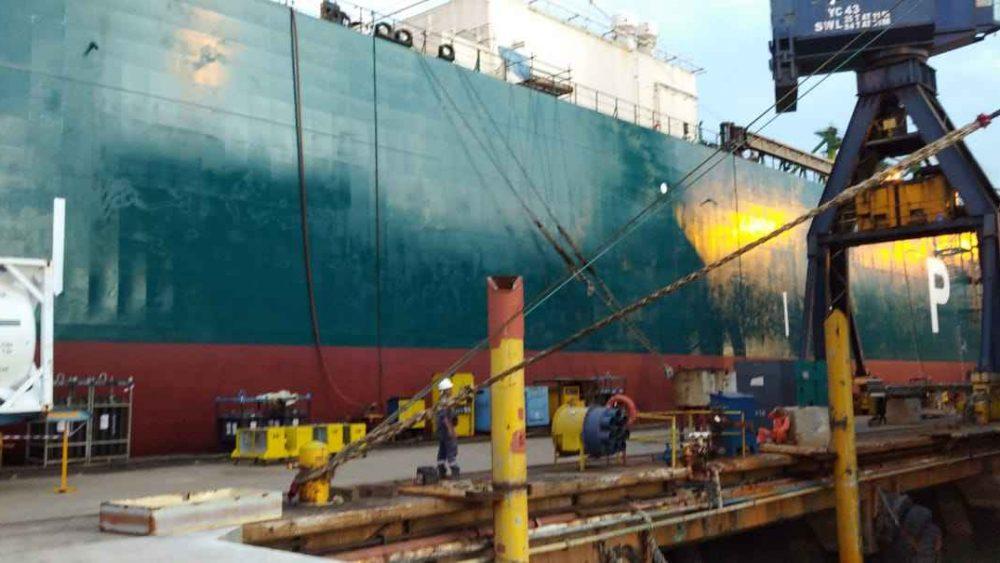 Prepare After Docking @ Pax Ocean